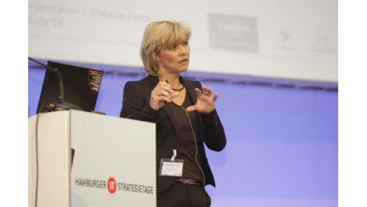 Stefanie Kemp, CIO von Vorwerk, referierte auf den Hamburger IT-Strategietagen 2009.