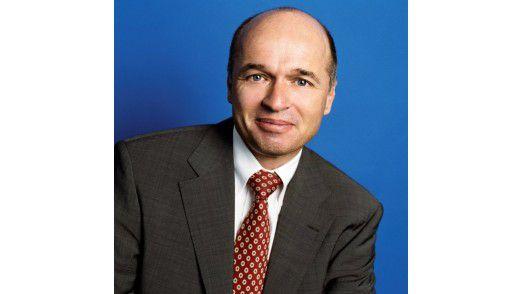 Volker Merk, Geschäftsführer von SAP Deutschland.