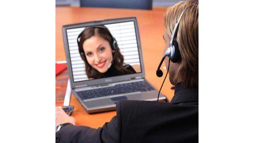 Virtuelle Teams müssen für eine erfolgreiche Zusammenarbeit viel miteinander kommunizieren.