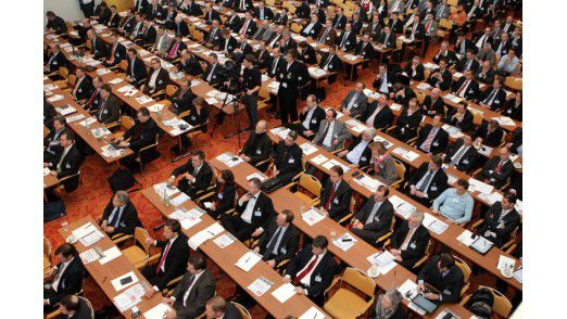 Mehr als 600 Teilnehmer kamen zu den IT-Strategietagen 2009.