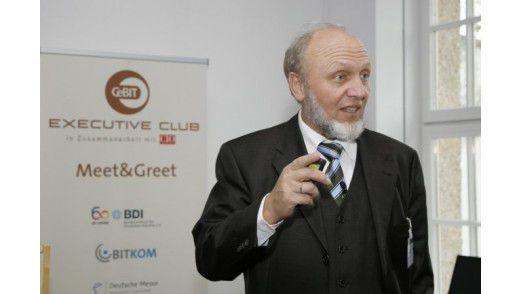 Hans-Werner Sinn, Präsident des ifo Instituts für Wirtschaftsforschung.