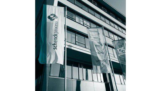 Unternehmenszentrale von Schenck Process in Darmstadt.