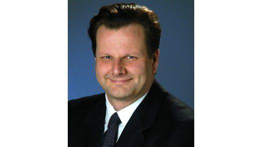 Hat bei SAP das iPad schon eigeführt. CIO Oliver Bussmann.