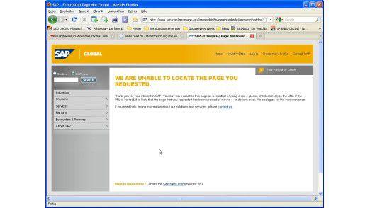 """Warum nur führt die Google-Suche nach """"Enterprise SOA"""" bei SAP ins Leere?"""