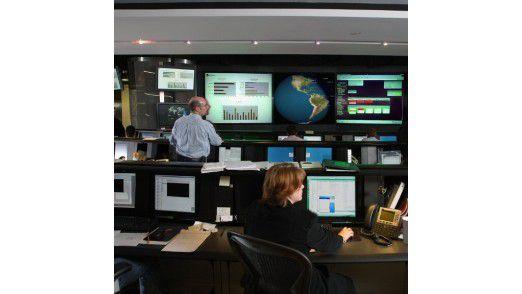 Das Symantec Security Operations Center.