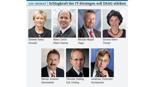 CIO-Beirat: Schlagkraft der IT-Strategien soll DSAG stärken.