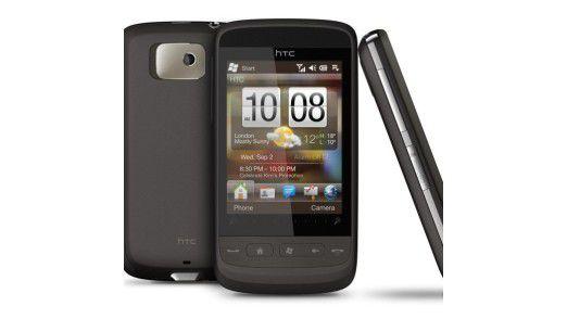 Smartphones wie das HTC Touch 2 werden in den kommenden Jahren den Mobilfunkmarkt immer mehr beherrschen, schätzen die Analysten.
