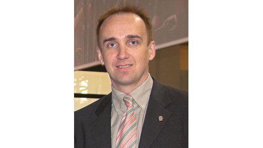 """Rene Reutter, Abteilungsleiter ICT Sicherheit, T-Systems: """"Virtualisierung erfordert ein koordiniertes Zusammenspiel von Netzwerk- und System-Management sowie Security-Komponenten."""""""