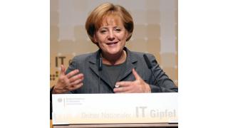 Merkel spricht: Live im Internet: 5. Nationaler IT-Gipfel - Foto: BMI