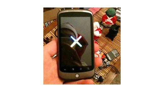 Das neue Smartphone Nexus One von Google.