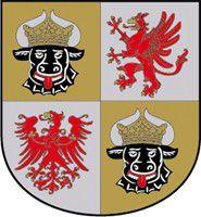 Großes Wappen des Landes Mecklenburg-Vorpommern.