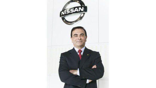 Carlos Ghosn, Chef von Renault-Nissan.