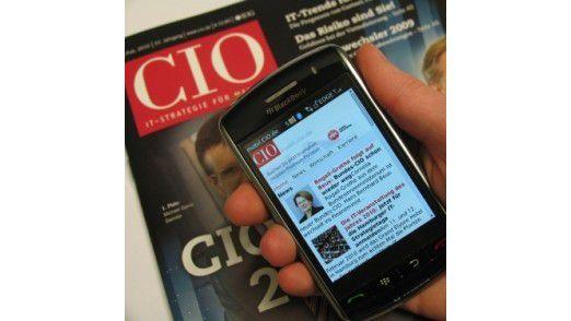 Mit CIO mobil sind Sie auch unterwegs bestens informiert.
