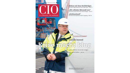 Die neue April-Ausgabe des CIO-Magazins.