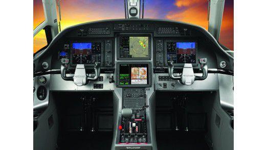Pilatus Aircraft Ltd, Cockpit.