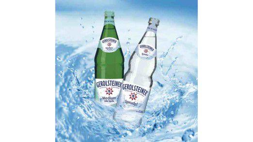 Gerolsteiner Sprudel + Medium 0.75 l.