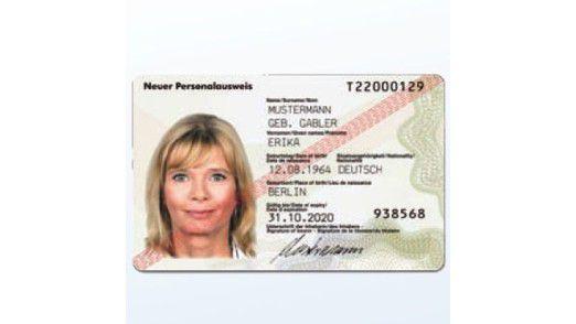 Der neue Personalausweis.