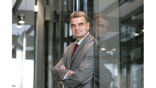 Johannes Helbig, Chief Innovation Officer der Deutsche Post/Brief.