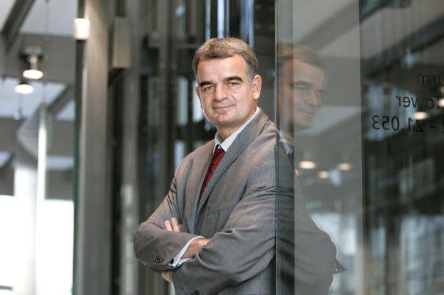 Johannes Helbig, Chief Innovation Officer der Deutsche Post Brief