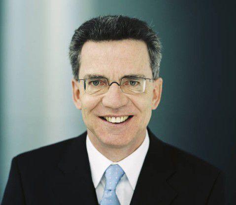 Bundesinnenminister Thomas de Maizière.