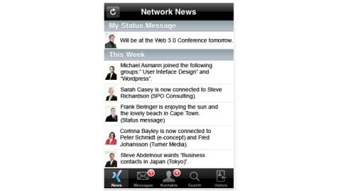 Soziale Netzwerke auf dem iPhone - Foto: Verschiedene