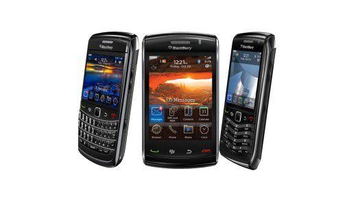 Blackberrys: Zumindest im zweiten Quartal vom iPhone abgehängt.