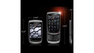 Mit Blackberry OS 6 und Touchscreen: Der neue Blackberry Torch - Foto: RIM