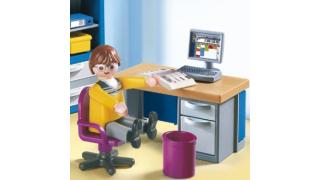Arbeiten im Home Office: 11 Tipps, Beruf und Privates zu trennen - Foto: Playmobil geobra Brandstätter GmbH
