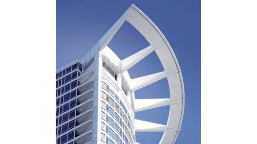 Der Hauptsitz der DZ Bank in Frankfurt am Main.
