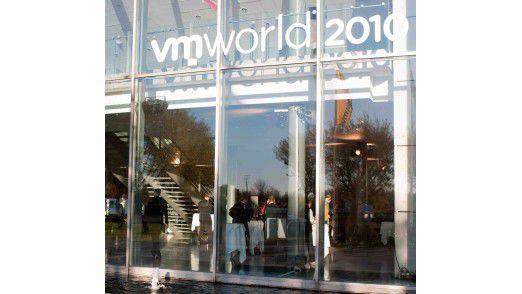 Auf der VMworld Europe in Kopenhagen zeigte VMware seinen Willen, weiterhin bei Virtualisierung die Nummer eins zu bleiben. (Foto: VMware)