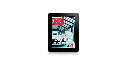 So sieht das CIO-Sonderheft auf dem Apple iPad aus.