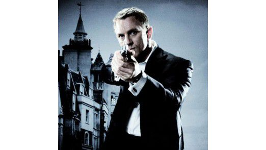 "Daniel Craig als James Bond in ""Ein Quantum Trost""."