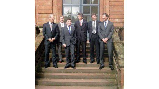 Mitarbeiter von Villeroy & Boch sowie Rödl & Partner.