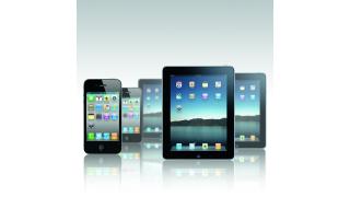 IT-Ausgaben im Gesundheitswesen: iPhone und iPad im Krankenhaus - Foto: Apple, Montage Claudia Wolff