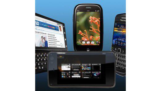 Auf dem Vormarsch: Mobile Endgeräte und Apps werden 2011 in den meisten Unternehmen zu finden sein.