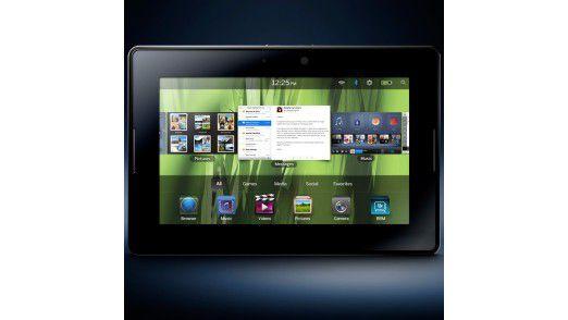 Apple-Alternative?: In den USA wird das Blackberry Playbook bereits verkauft.