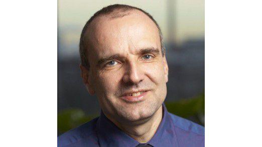 Matthias Moritz, CIO der Bayer Healthcare AG, sprach auf den Hamburger IT-Strategietagen.