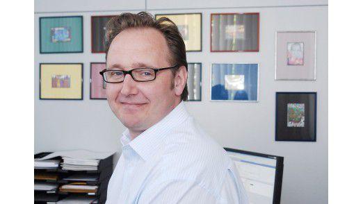 Bernd A. Müller, EDV-Leiter bei der Neuen Westfälischen in Bielefeld, gab SAP nach außen und ist sehr zufrieden damit.