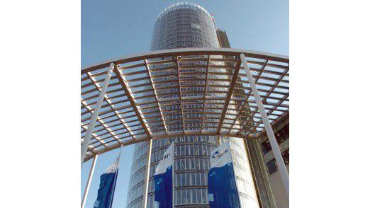 Der RWE-Turm.