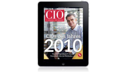 """In der CIO Kiosk App erhältlich: Das Sonderheft zum """"CIO des Jahres 2011""""."""