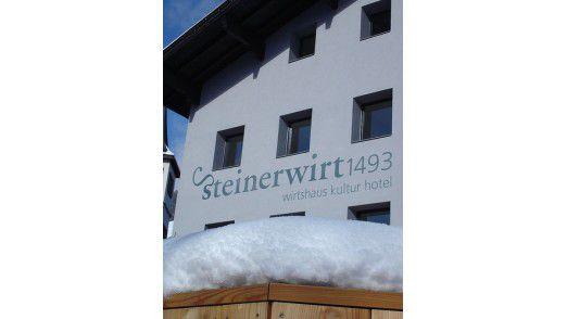 1493 erbaut: Der Steinerwirt in Zell am See.