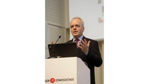 Wolfgang Gaertner, CIO der Deutschen Bank.