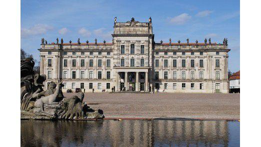 Anziehungspunkt der Stadt Ludwigslust: Das Schloss.