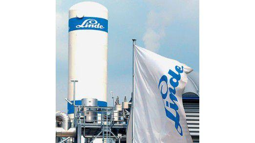 Linde räumt in Leuna auf: Die Lagerlogistik wird mit SAP EWM optimiert.