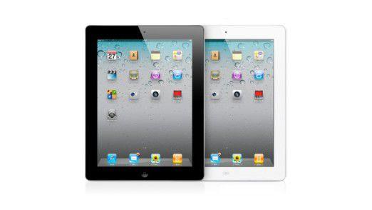 Das iPad 2 bietet Apple in weiß und schwarz an.