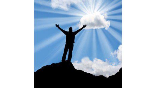 Cloud Computing liegt 2012 im Trend.
