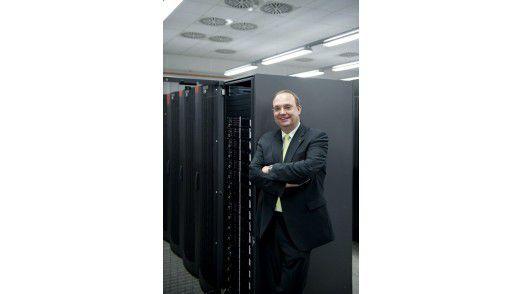 Stefan Schröder, Datev-Entwicklungschef: Früher hieß das Ganze Rechenzentrum, dann ASP und SaaS, heute Cloud.