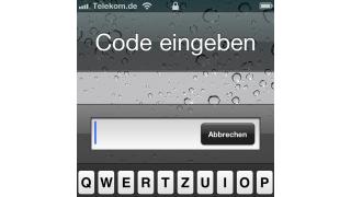 Code-Sperre: So sichern Sie Ihre Daten auf dem iPhone