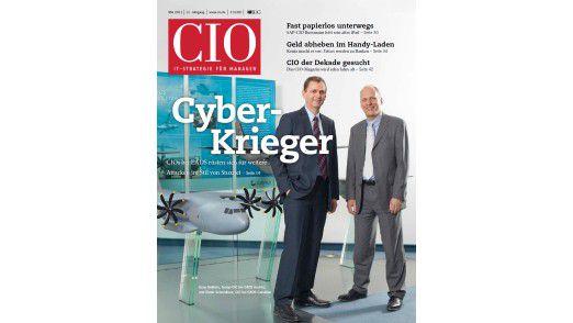 Die neue Mai-Ausgabe des CIO-Magazins.