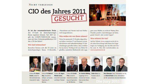 """""""CIO des Jahres 2011"""""""